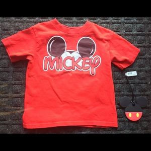 """3T Disney T-shirt """"Mickey"""", gift with purchase!"""